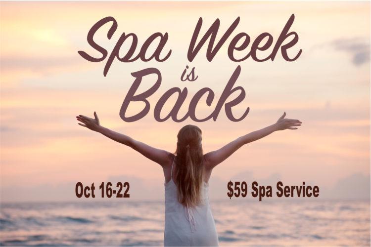 spa week New Jersey